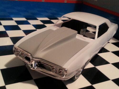 LEX/'S SCALE MODELING Resin Outlaw Hood for /'68 Firebird Revell 1//25 NEW! HOT