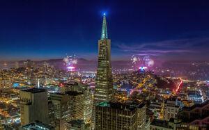 BRIDGES GOLDEN GATE SAN FRANCISCO NEW A4 POSTER GLOSS PRINT LAMINATED
