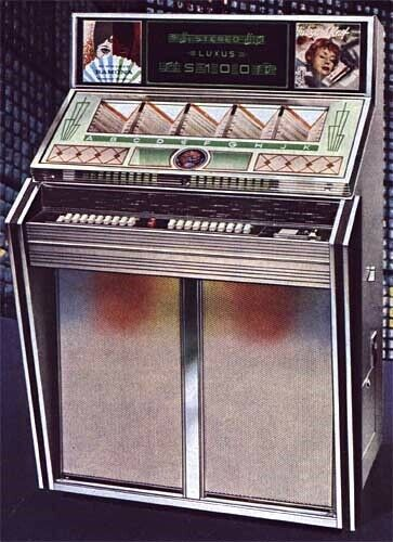 Jukebox , Bergmann stereo luxus S100