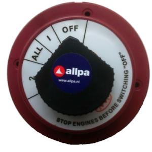 Batterieschalter Batterieumschalter für Boote Batterietrennschalter Boot NEU