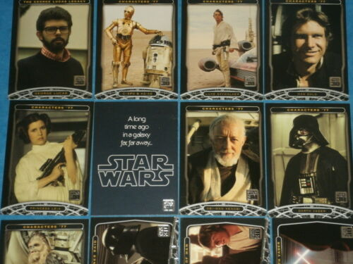 30th Anniversary  Complete Base Set Of 120 Trading Cards Luke,Vader STAR WARS