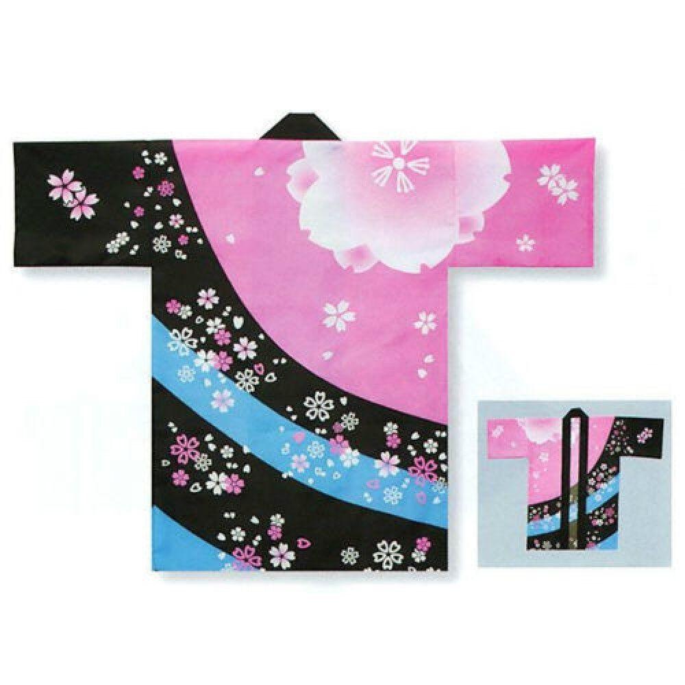 HAPPI HANTEN Traditional Coat Matsuri Festival Authentic JAPAN DHU6363