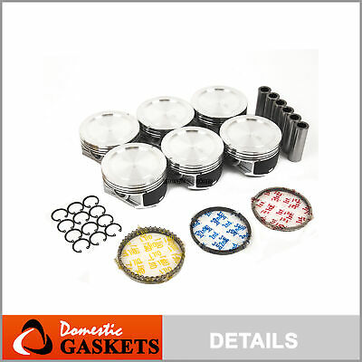 Pistons and Rings Fits 95-05 Buick Chevrolet Oldsmobile Pontiac 3.8L OHV