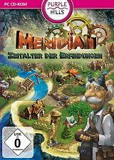 Meridian * la era de las invenciones * estrategia de juego PC CD-ROM