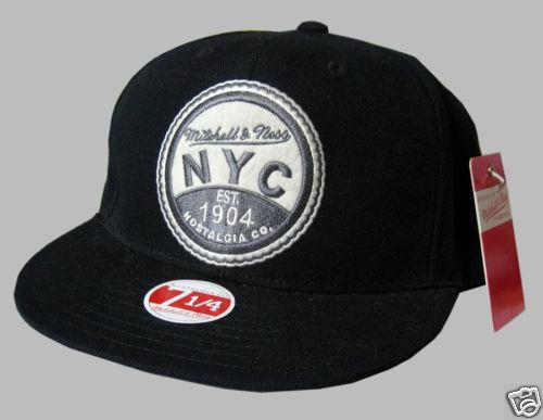 BIG Mitchell & & & Ness Cap NYC 1904 est Nostalgia Co 7 1 4 da56a6