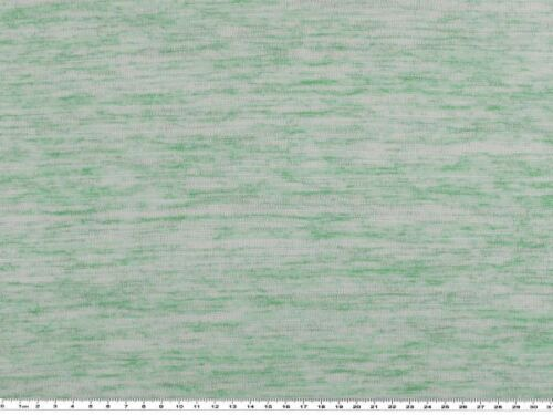 türkis-weiß 160cm Leinenoptik Viskose-Mischgewebe