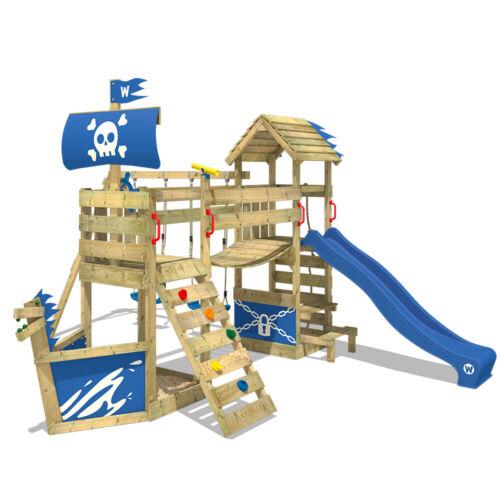 Wickey juego torre Diogenes ghostflyer jardín barco pirata columpio tobogan