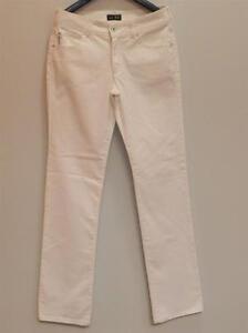 Dell'immagine Tg Corso Originali Armani Pantaloni Jeans Bianco Taglia In Donna Caricamento jqUpGSzMLV
