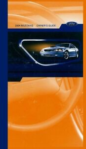 2004 ford mustang owners manual user guide 602693838221 ebay rh ebay co uk 2004 ford mustang gt convertible owners manual 2004 ford mustang convertible owners manual pdf