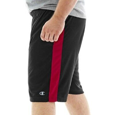Big& Tall Size Professional Sale Champion-men's Powertrain Vapor Performance Shorts black 4xl