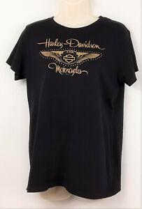 Harley-Davidson-VOODOO-New-Orleans-110th-Anniversary-T-Shirt-Womens-XL