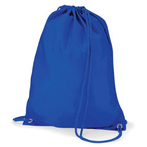 GYMSAC 12 COLOURS DRAWSTRING BAG KIDS SPORTS BAG CHILDRENS SCHOOL SWIM BAG