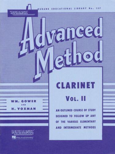 Rubank Advanced Method Clarinet Vol 2 Advanced Band Method NEW 004470320