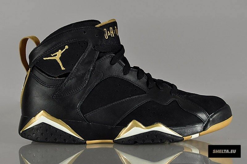 Nike Air Jordan 7 VII Retro Black gold GMP golden Moments Size 12. 535357-935