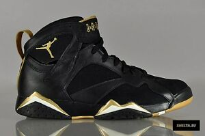 Details about Nike Air Jordan 7 VII Retro Black Gold GMP Golden Moments  Size 10. 535357-935