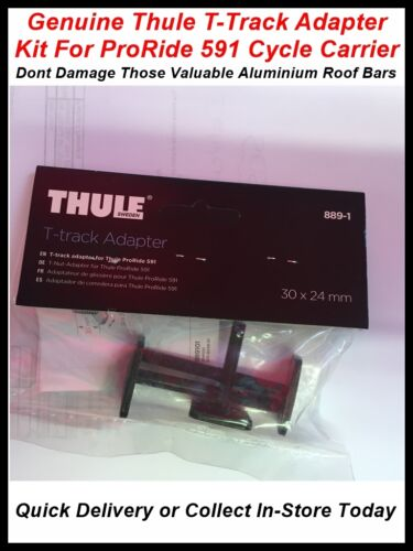 THULE T-TRACK ADAPTER KIT FOR PRORIDE 591 CYCLE CARRIER FOR BMW MERCEDES ONLY