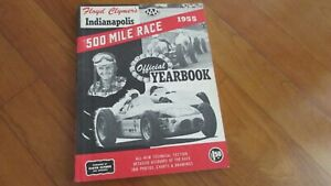 1955-Indianapolis-Indy-500-race-history-Clymer-Yearbook-Bob-Sweikert-wins-Offy