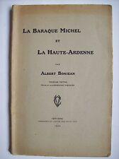 histoire des Hautes-Fagnes Baraque Michel signal Botrange Verviers 1926 légende