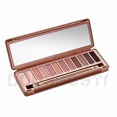 12 COLORS NEW EYESHADOW NEUTRAL MAKE UP URBAN PALETTE NUDE EYE SHADOW NAKE NOBLE