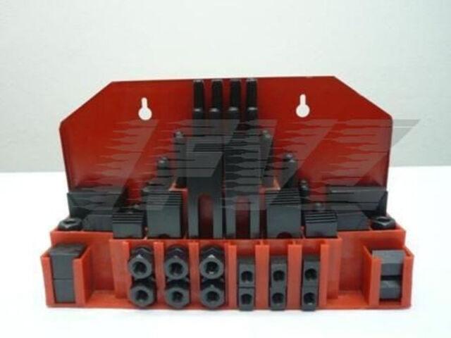 M12 x 14 mm Festklemmset Spannwerkzeug Sortiment Spannelemente Set Nutensteine