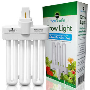 Aerogarden Genuine Hydroponic Grow light 1 Replacement 26 W Grow Bulb 100340