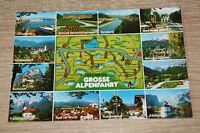 AK Große Alpenfahrt Bayern, Huber Garmisch-Partenkirchen, AK, ungelaufen