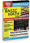 Basic Math Tutor - Adding And Subtracting Fractions And Finding The Common Denominator (DVD, 2011)