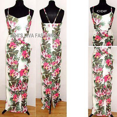VLABEL LONDON BY VIRGOS LOUNGE /'FLORA/' Elegant Formal Maxi Dress Sizes 12-16