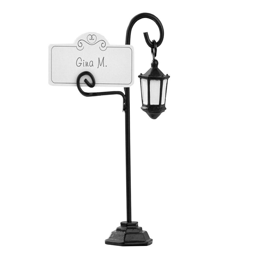 Table Porte Carte  mini lanterne  30 LOTS 11 cm Nom Carte Table Carte Cadeau