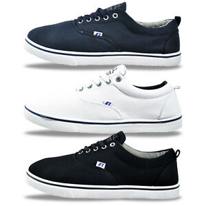 Mens-Russell-Athletic-Summer-Holiday-Plimsols-Pump-Trainers-From-9-99-FREE-P-amp-P
