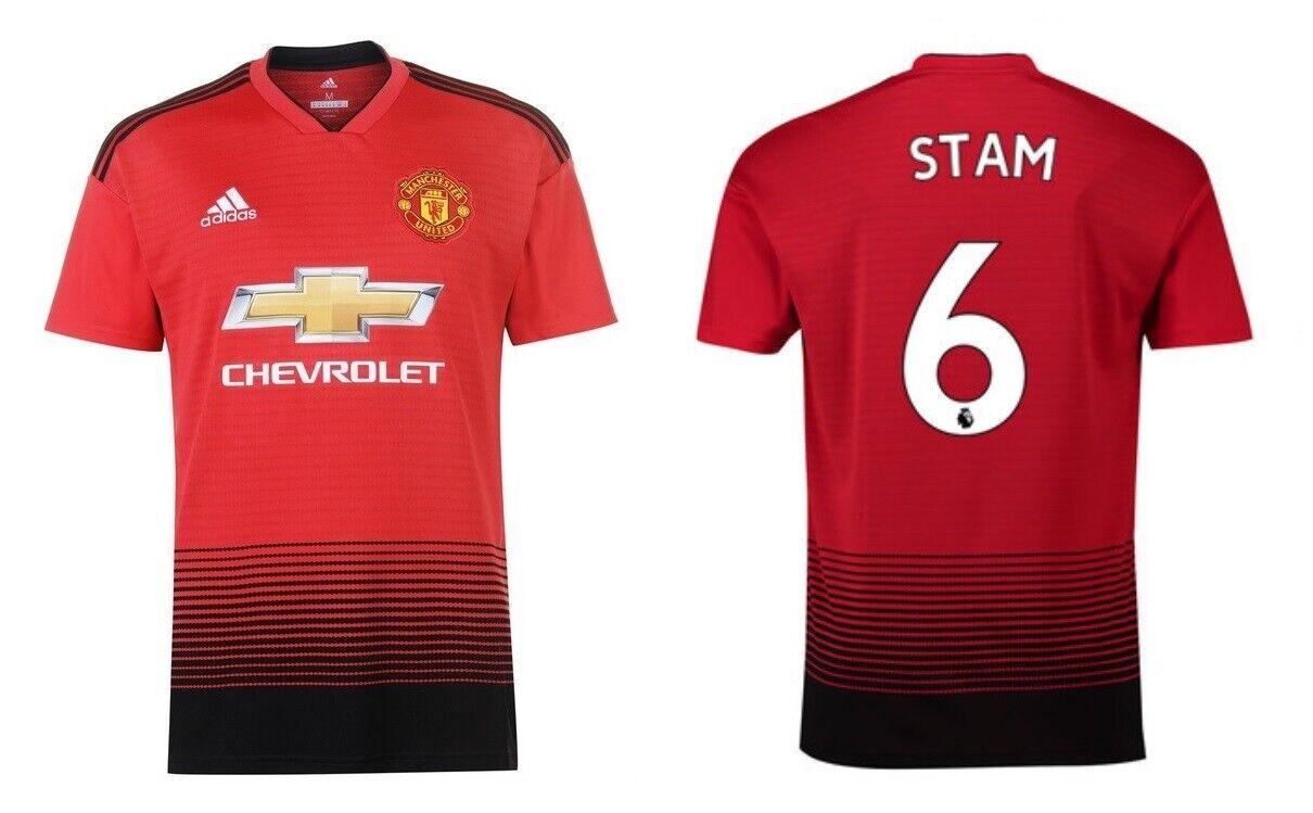 Trikot Manchester United 2018-2019 Home - Stam 6  ManU