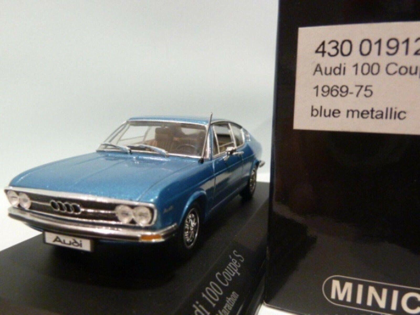 Wow extrêmement rareI 100 C1 1.9 L I4 Coupe S 1969 H bleu 1 43 Minichamps - 50 80
