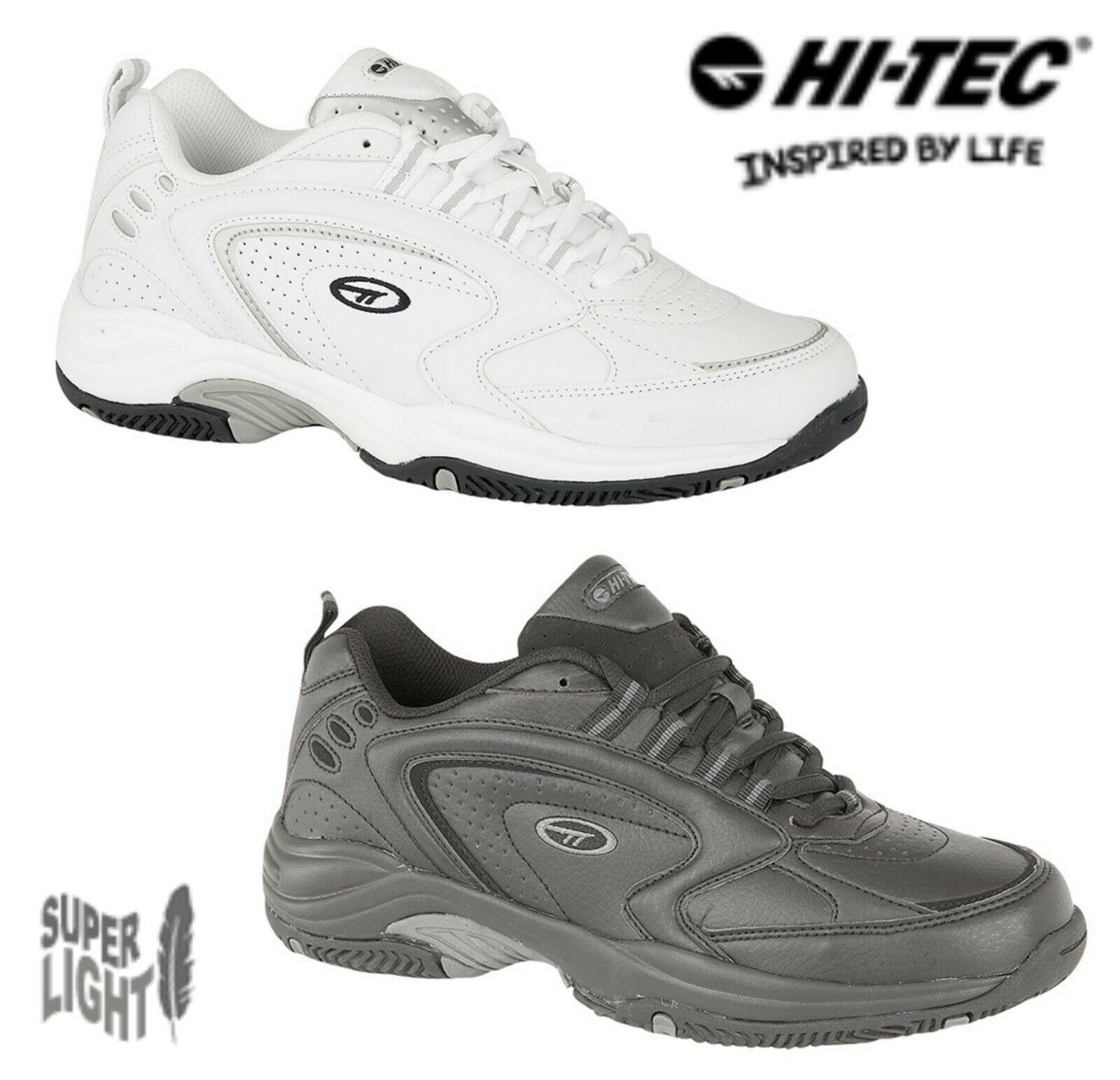 HI-TEC BLAST LITE Lightweight Non-Marking Trainers - White or Black Sizes 6-16
