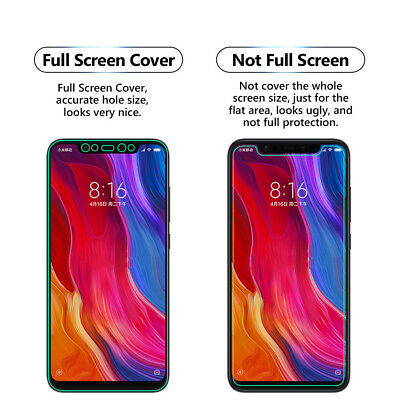 Diszipliniert 1 Pack Full Screen Face Curved Tpu Screen Protector Cover For Xiaomi Mi 8 Im Sommer KüHl Und Im Winter Warm