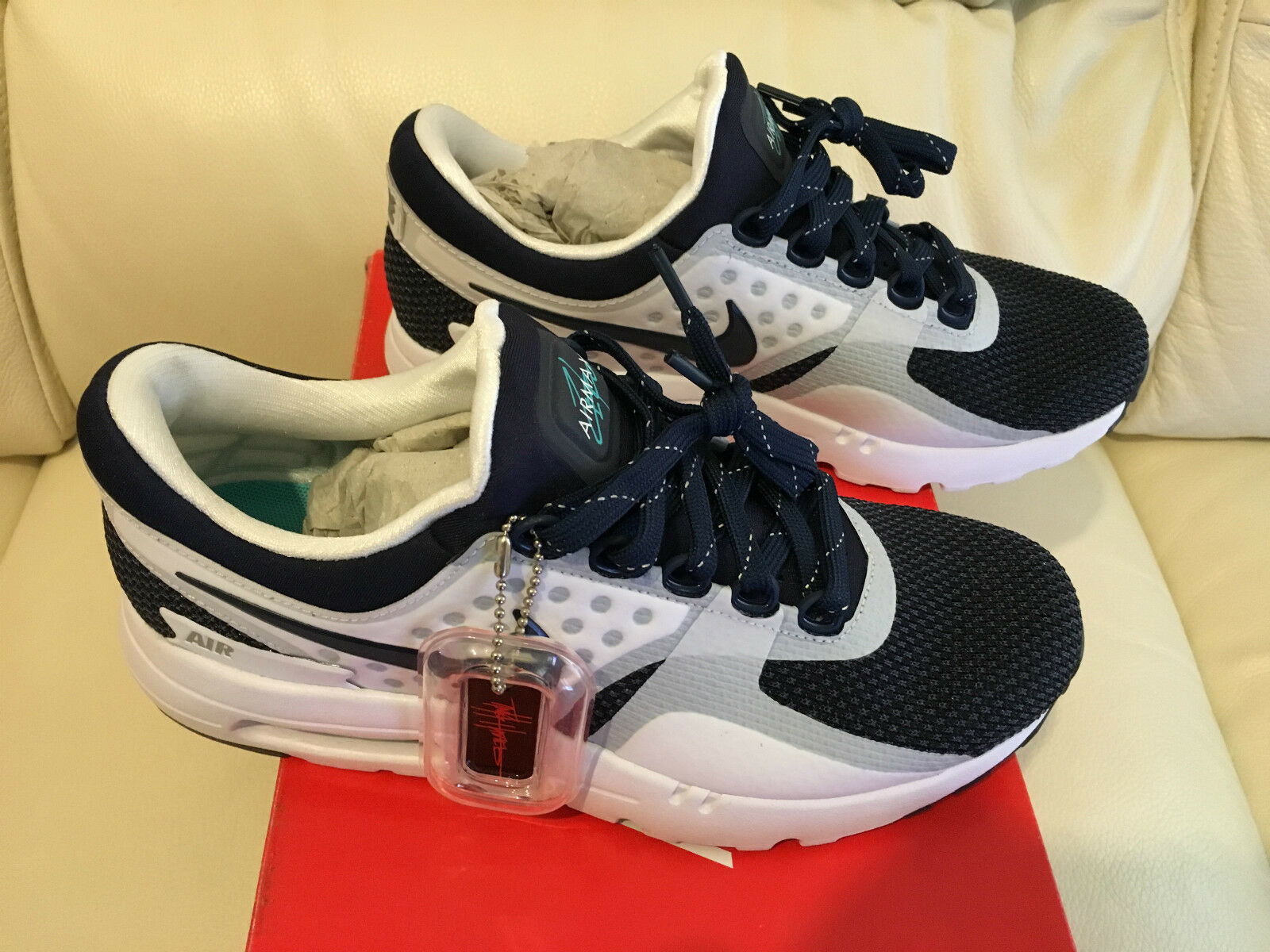 NIKE AIR MAX ZERO TRAINERS Chaussures SNEAKERS SIZE3 3.5 4 5.5 6 7 10.5 11 12 NEW
