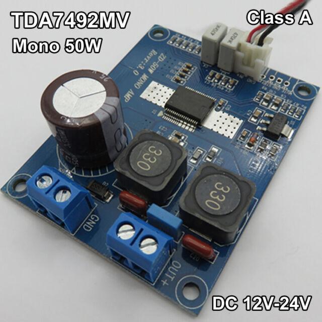 35W TDA8932 Amplifier Board Mono Audio Power Amp Digital Module DC 12V 24ODUS