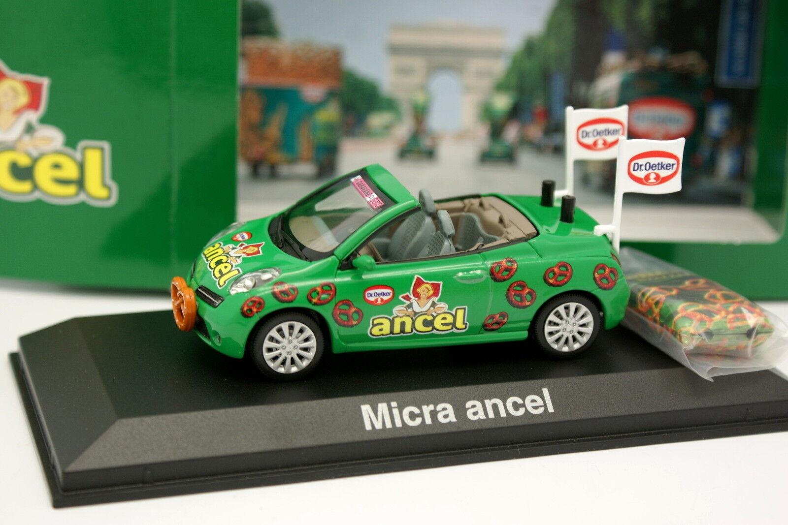 Norev 1 43 - Nissan Micra CC Ancel Tour de Francia 2012