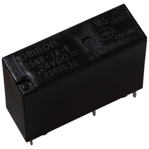 OMRON G5NB-1A-E-24 Relais 24V DC 1xEIN 5A 2880R PCB Power Relay 854836