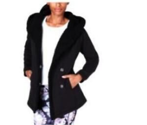 Ideology-Womens-Plus-Sz-Black-Faux-Fur-w-Hood-Jacket-69-5-TINI-amp