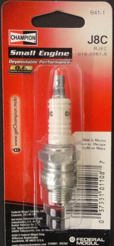 Champion Spark Plug J8C #841-1 Replaces J43 J7  J7J J7JM J8 J8J RJ8C J8JM UJ8