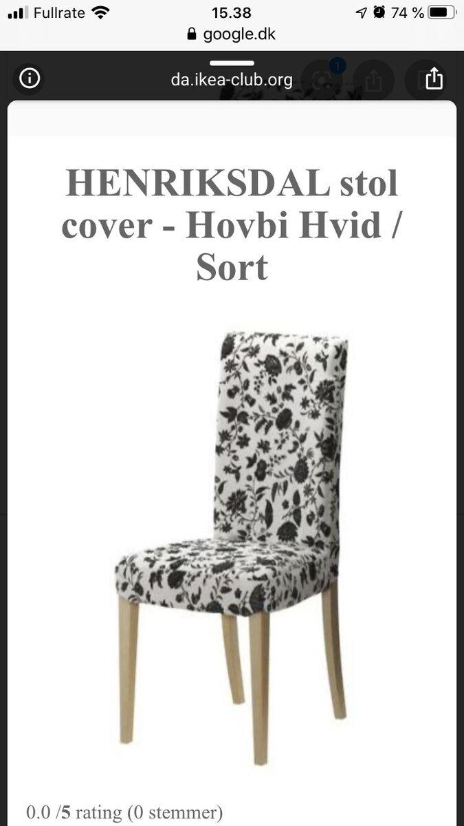 Spisebord mstole l: 110, 6 stk stole fra hansdahl nypris