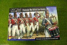 Península de guerra británico línea Infantería Polvo Negro 28mm guerras napoleónicas