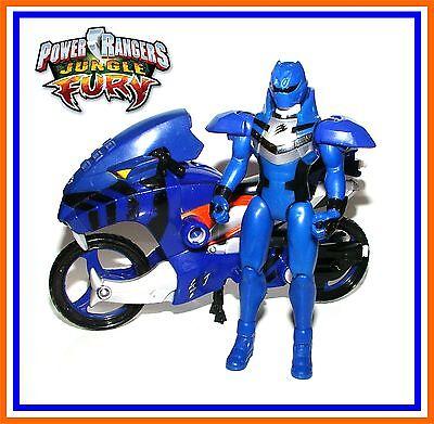 * Nouveau Power Rangers Jungle Fury ~ bataille Fury JAGUAR Ranger Bleu