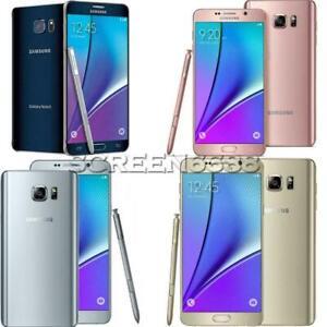 Samsung Galaxy Note 5 N920 32GB 64GB Unlocked Smartphone AT&T T-Mobile Verizon