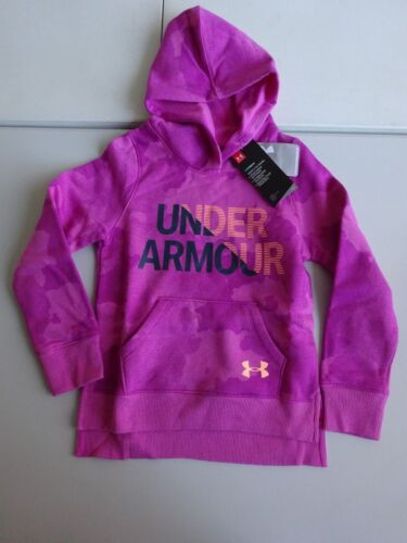 Under Armour Girl/'s Rival Fleece Wordmark Hoodie NWT