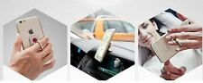 2 in 1 ring stand + car mount holder for smartphone/iPhone/iPAD mini - 360° turn