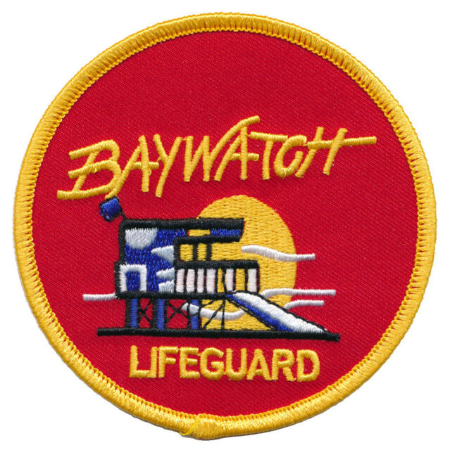 """Baywatch tv show hawaii swimsuit patch 3. 5"""" patch scifi geeks."""