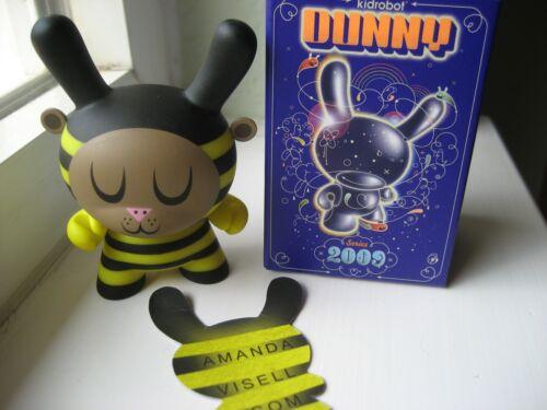 "DUNNY 3/"" 2009 SERIES Amanda Visell Bumble Bee  KIDROBOT  VHTF"