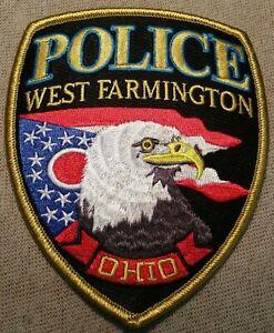 Ohio West Farmington OH Police Dept Patch