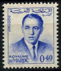 Morocco-1962-SG-117b-40f-King-Hassan-II-Definitive-MNH-D49378